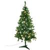 210cm Joulukuusi, valaistu LED-valoketjulla, valon