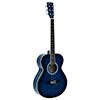 AW-303 Akustinen kitara teräskielillä, sininen 4