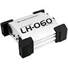 LH-060 passiivinen di boxi tupla hopean värinen,