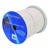 Litteä kaiutinkaapeli 2x1,5mm² valkoinen 100m ke