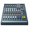 EPM6 studio, live mikseri 6x mic-line tuloa, 2+ 1