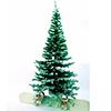 240cm Erittäin tuuhea joulukuusi huurre koristuks